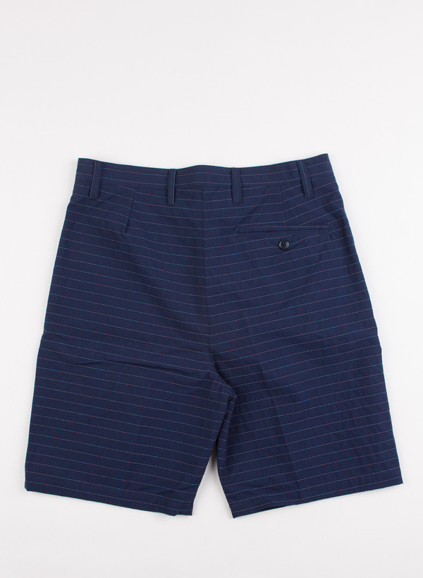 Men's Camo Shoenefeld Horizontal Stripe Shorts Blue