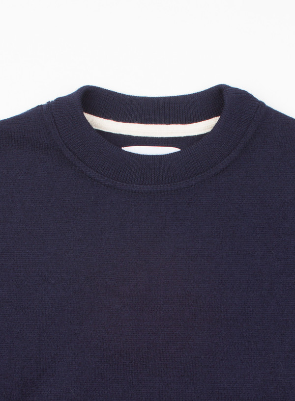Men's Norse Projects Verner Pure New Wool Navy