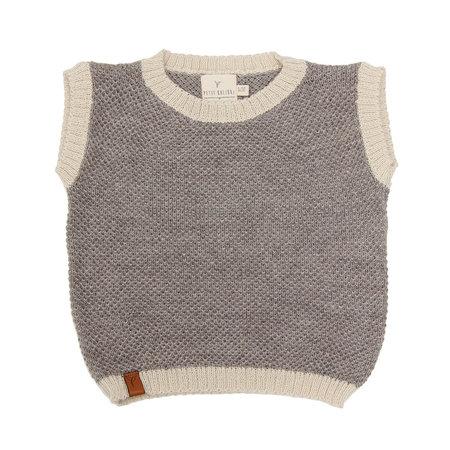 Kids Petit Kolibri Baby Alpaca Mix Vest - Grey