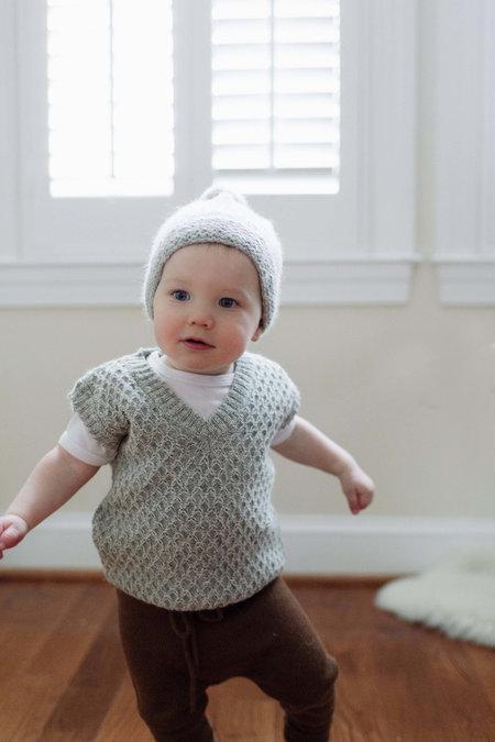 Kids Petit Kolibri Organic Baby Alpaca Vest - Mixed