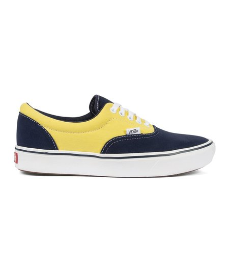 Vans UA Comfy Cush Era Sneakers - Navy/Yellow