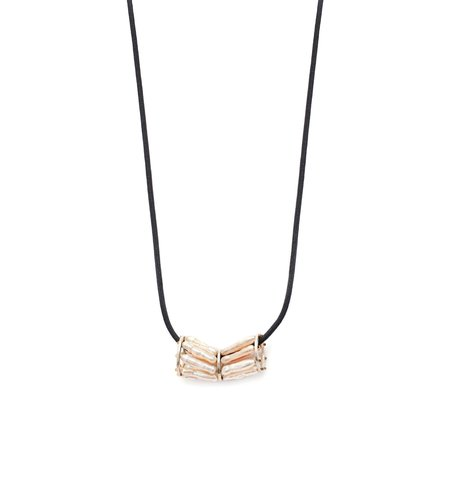LYDI OF THE VALLEY BIWA PEARL FLOW NECKLACE - NATURAL