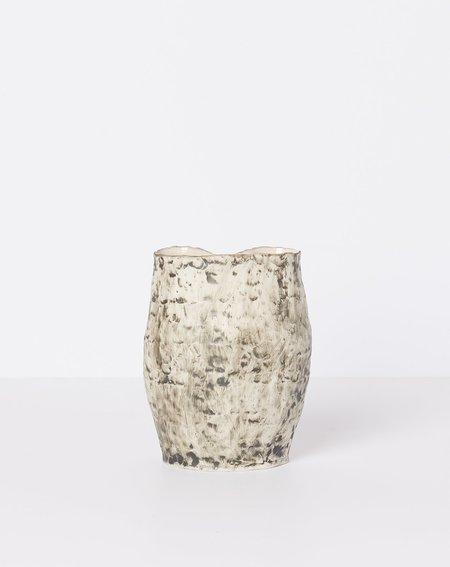 Lily Fein Bean Vase - Black/White
