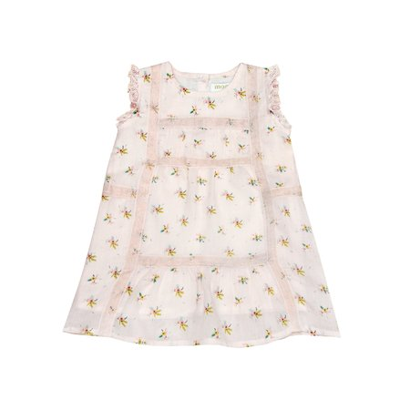 KIDS Moon Paris Adeline Baby Dress - Light Flowers
