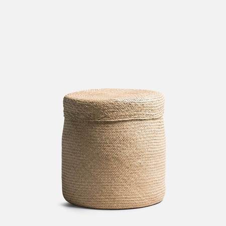 Someware Iles Woven Canister With Lid