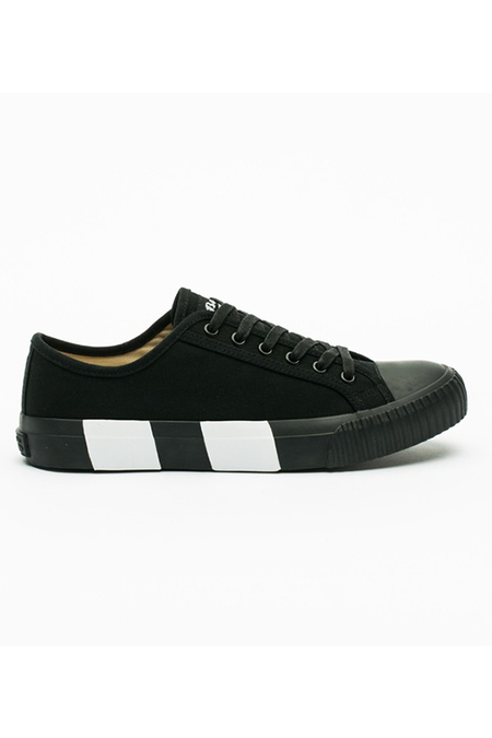Bata Bullets Low Top Canvas sneaker - Black