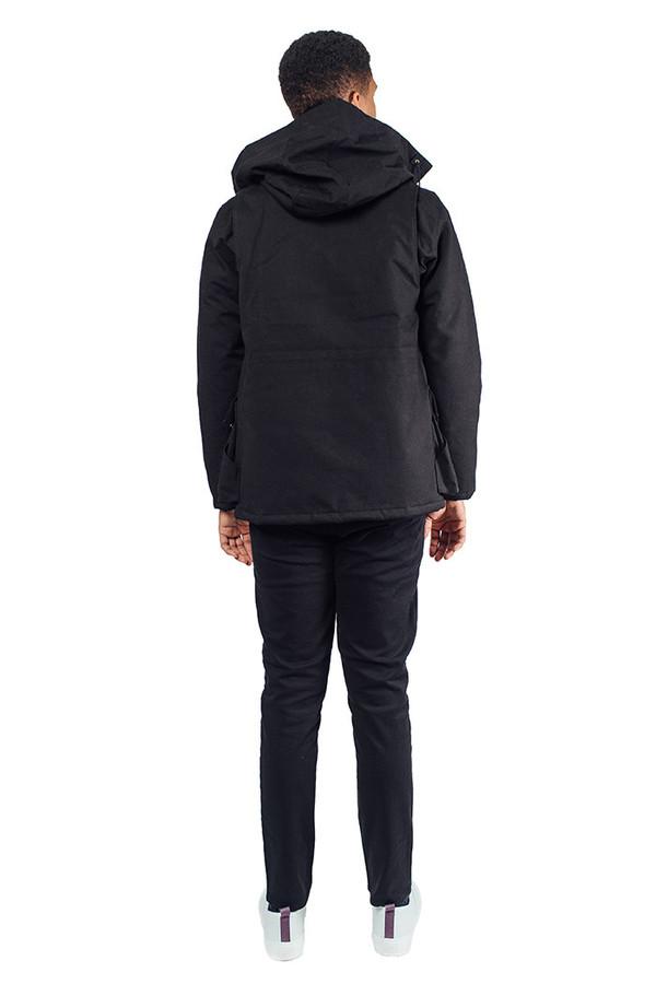 Hooded Parka Black