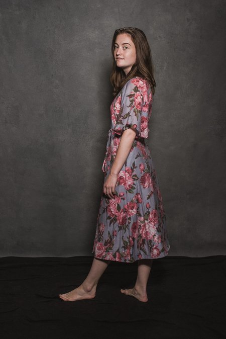 Conrado April Wrap Dress - Pink Floral