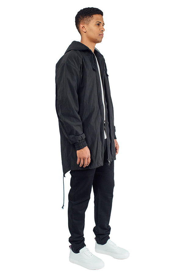 Split Parka Black