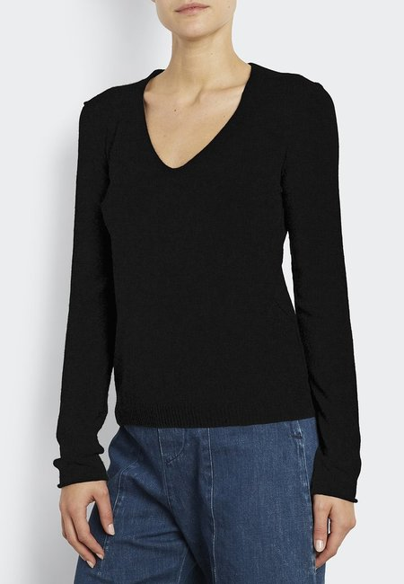 Inhabit 100% Cashmere Must Have U - Black