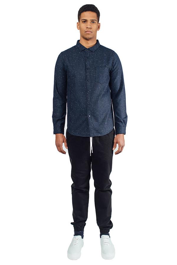 Men's LA panoplie Tweed Buttondown Shirt