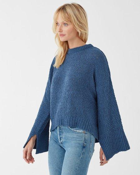 Splendid Bowie Sweater - Dusty Blue