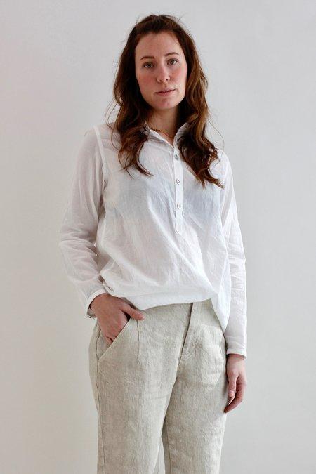 Pas De Calais Woven Cotton Shirt - White