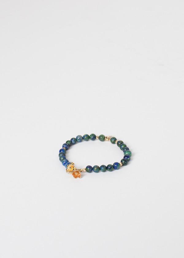 5 Octobre Azur Bracelet in Blue Azurite