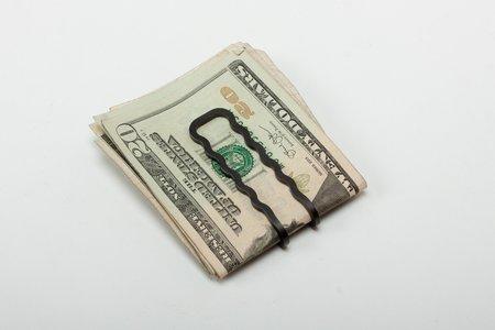 Craighill Wave Money Clip - Carbon Black