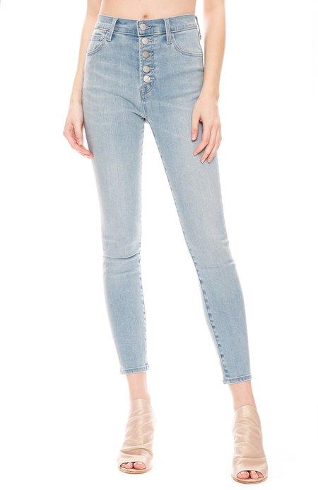 J Brand Lillie High Rise Cropped Skinny Jean