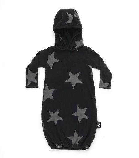 Kids Nununu Star Lounge Sack - Black