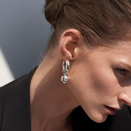 AGMES Sonia Artichoke Calla Earrings