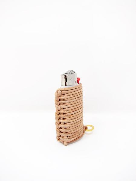 Bless Hiro & Bert Lighter Pin - Beige