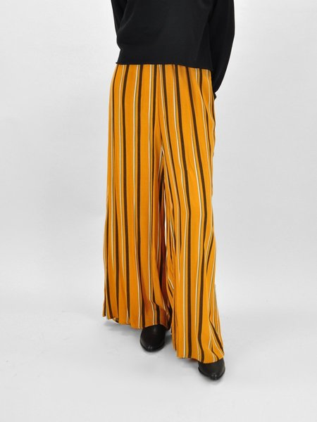&Another Margareta Striped Pant - Rust