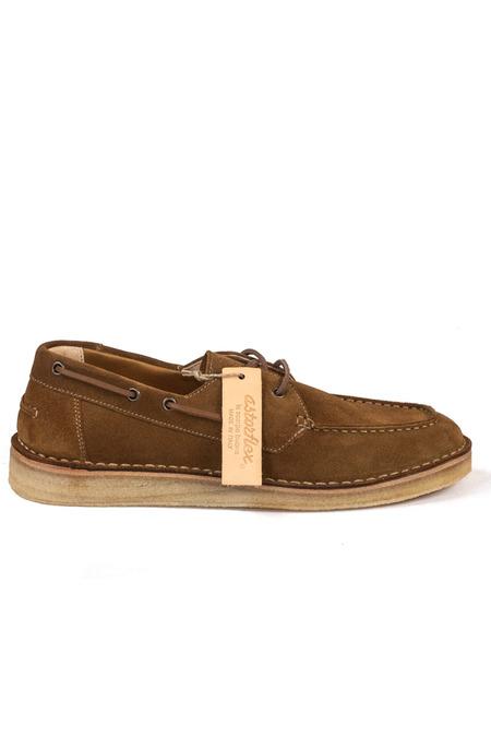 Astorflex Boatflex Shoes - Dark Khaki