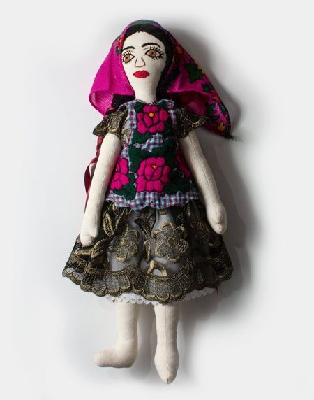 Kids Oaxaca Collection Areli Handmade Mexican Doll