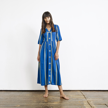 Ace & Jig Leelee Dress in Majorelle