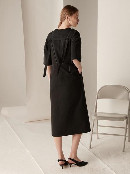 BEMUSEMANSION Monet Dress - Black