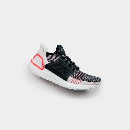 Adidas Ultraboost 19 Sneakers - Grey Six/Core Black/Shock Yellow
