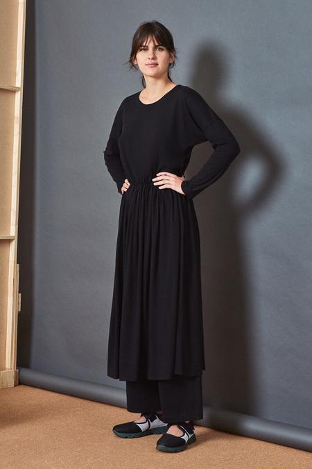 Kowtow Building Block Dancer Dress in Black