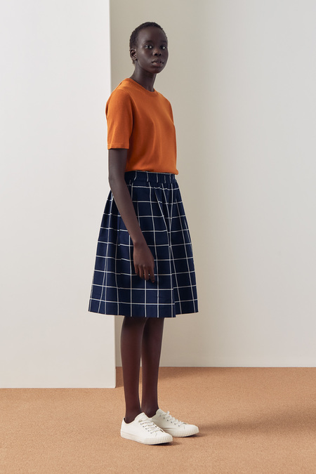Kowtow Dusk Short in Check