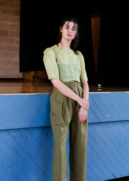 Penny Sage Paloma shirt - pistachio