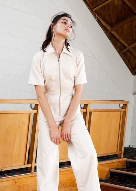 Penny Sage Sophy jumpsuit - NATURAL