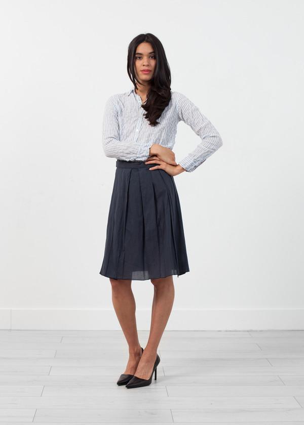 Hache Half Wrap Skirt