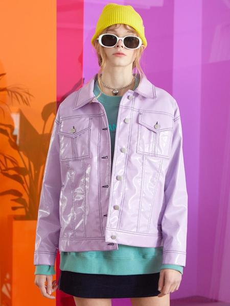 General Idea Standard Enamel Jacket - Purple