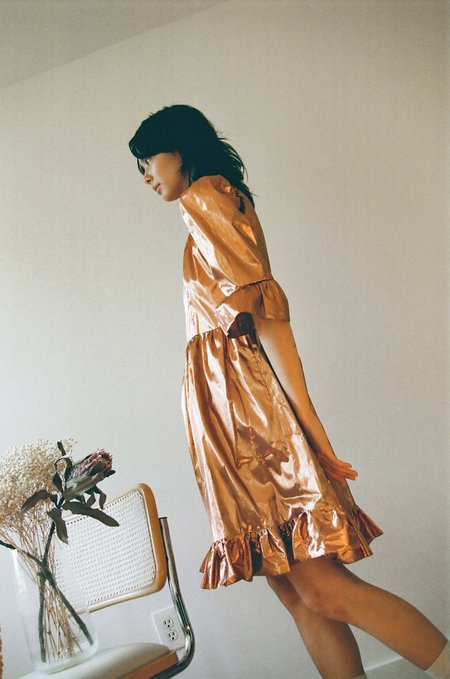 11b6b68e63854 Dresses in Metallic from Indie Boutiques | Garmentory