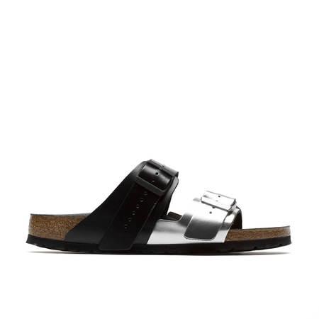 Rick Owens Arizona Combo Sandals - Black/Silver