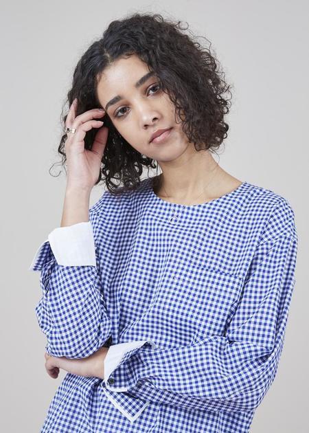 Lareida Brooke Gingham Shirt - Blue/White