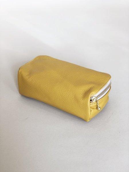 Erin Templeton Kiss and Makeup Bag - Mustard