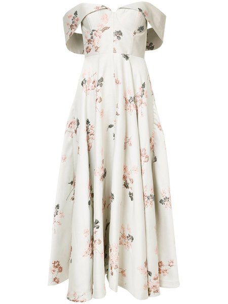 Co Bustier Dress - Floral
