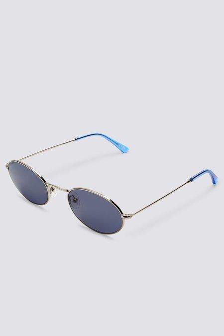 Sun Buddies Metal Aaliyah eyewear - Silver/Blue Sky