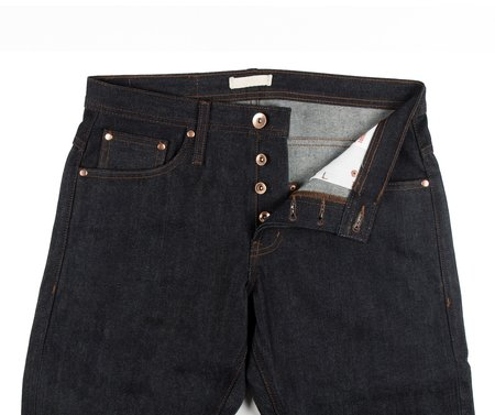 Unbranded Straight Fit Jeans - Indigo Selvedge