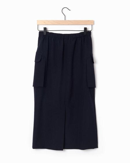 Comme des Garçons Wool Skirt - Black