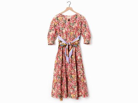 Marni Floral Midi Dress - Multi