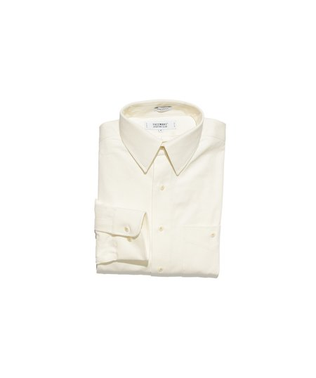 Freemans Sporting Club Point Collar Shirt - Natural Twill