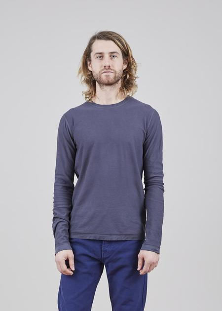 Hannes Roether Long Sleeve Yan Tee - Gray