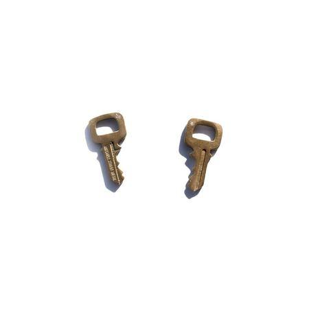 Mitchell Street Metal Key Studs - Brass