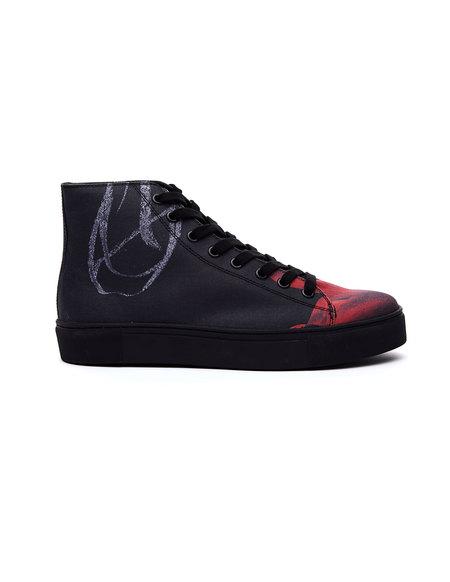 Yohji Yamamoto Printed Cotton Sneakers - Multicolor
