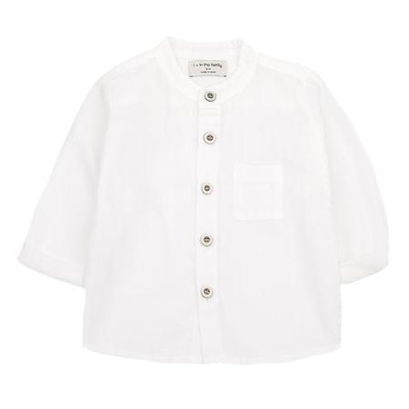 KIDS 1+ In The Family Amadeo Button Up Shirt - Off-White