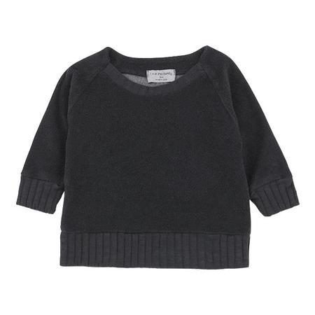 KIDS 1+ In The Family Etienne Terrycloth Sweatshirt - Black